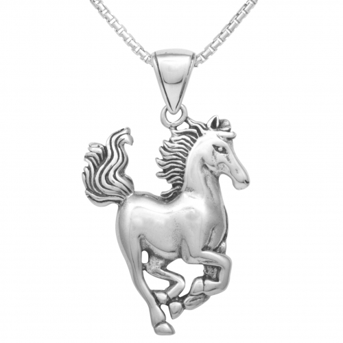 Pferde Anhänger 925 Sterling Silber