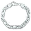 Königsarmband 11mm 925er Silber
