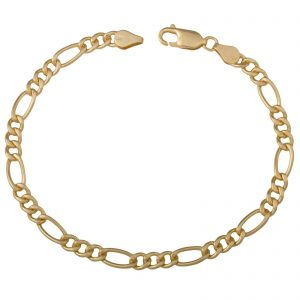 Figaroarmband 5mm 585er Gold