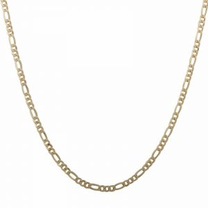 Figarokette 4mm 750er Gold