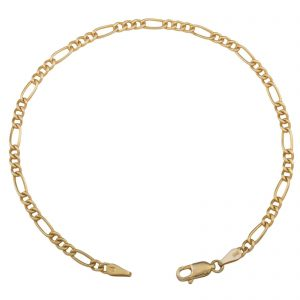 Figaroarmband 3mm 585er Gold