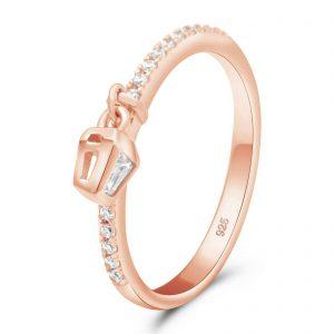 Ring mit Laterne 925er Silber