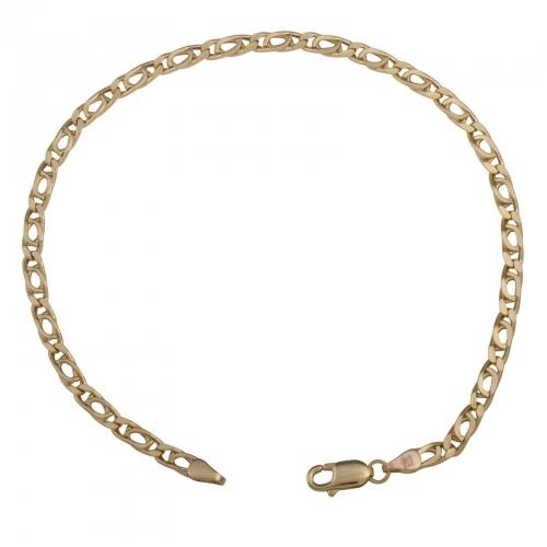 Tigerauge 585er Gold