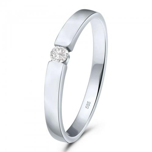 Spann Ring 585er Gold