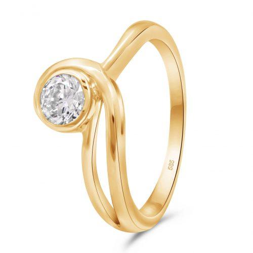 Solitär Ring 585er Gold