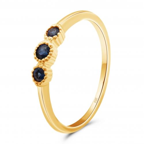 Vorsteck Ring 585er Gold