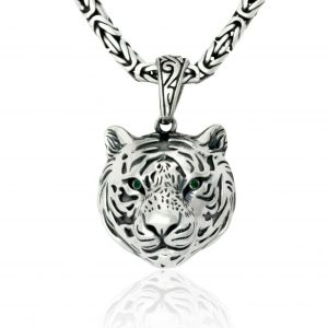 Tiger Anhänger 925er Silber