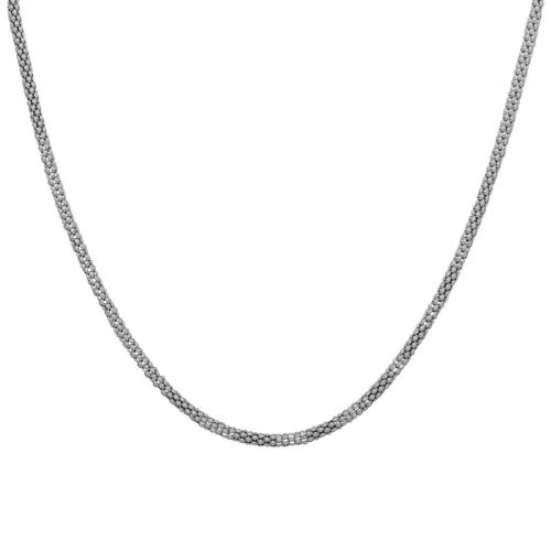 Himbeerkette 4mm 925er Silber