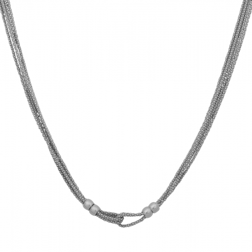 Himbeerkette 6mm 925er Silber