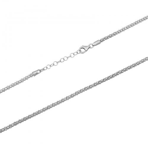 Himbeerkette 3mm 925er Silber