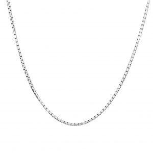 Venezianerkette Rund 925er Silber