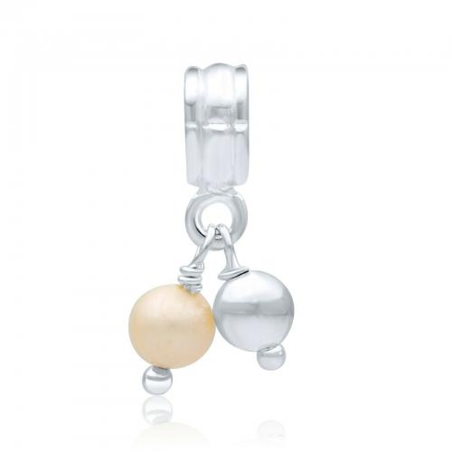 Süßwasser Perle Charm
