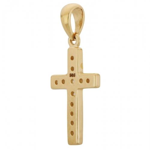 Kreuz Anhänger 585er Gold