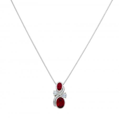 Halskette Tropfen 925er Silber