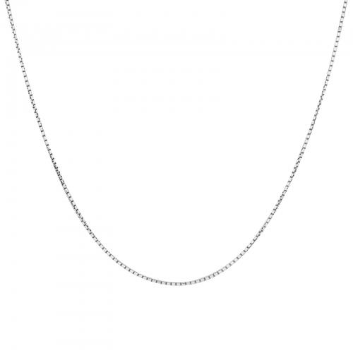 Venezianerkette 1mm 925er Silber