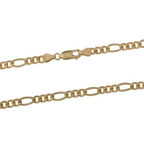 Figarokette 5mm 585er Gold-2