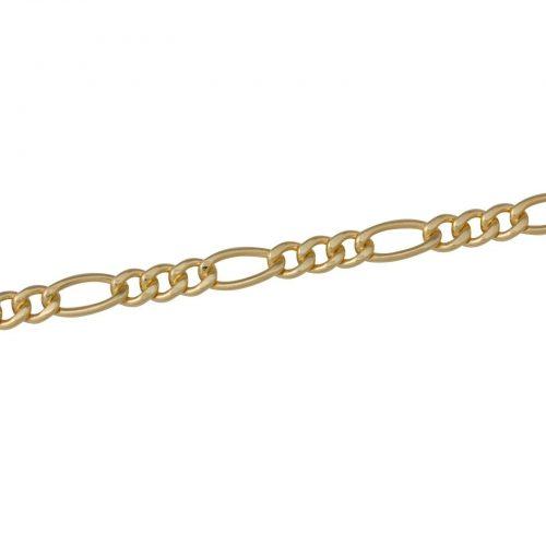 Figarokette 5mm 585er Gold-4