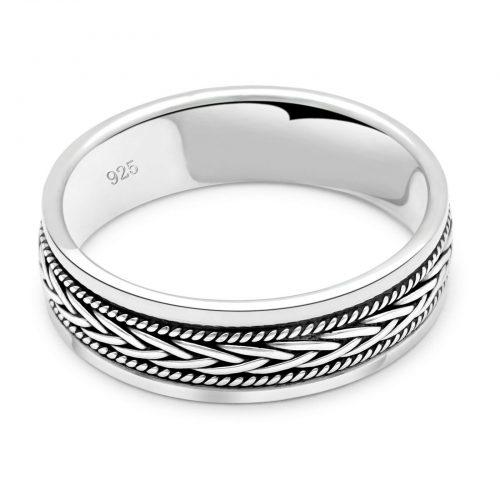 Ring Geflochten-3