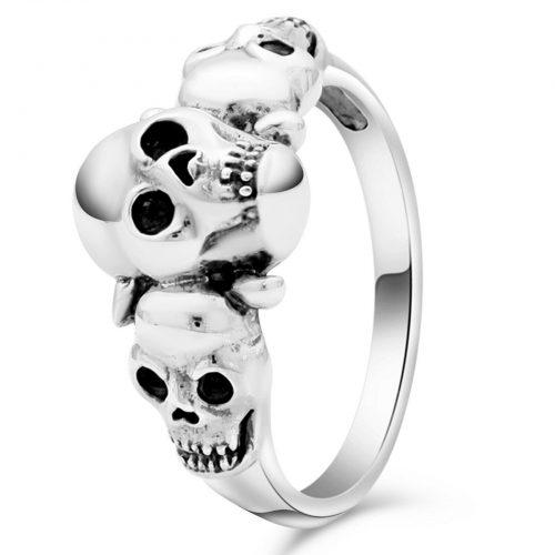 Totenkopf Ring Schädel-1