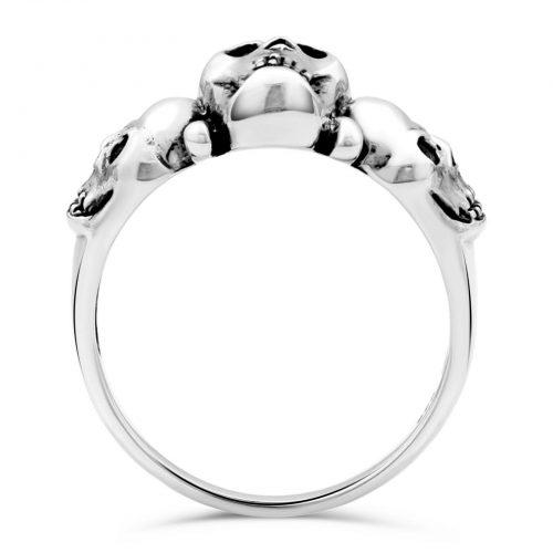 Totenkopf Ring Schädel-2